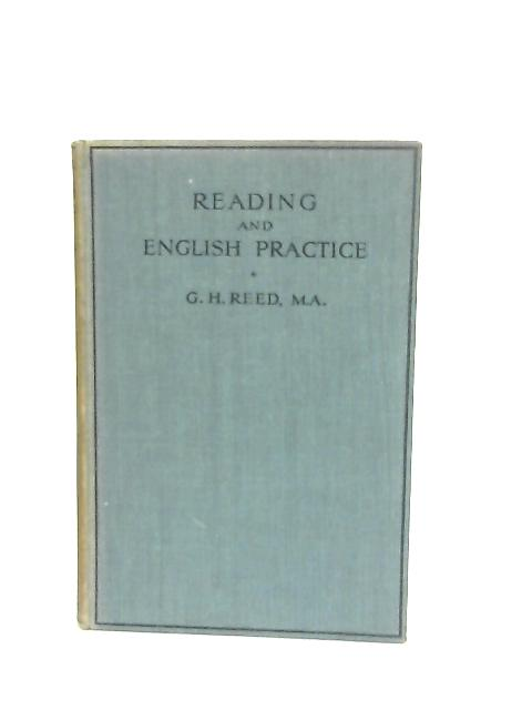 Reading & English Practice By G. H. Reed