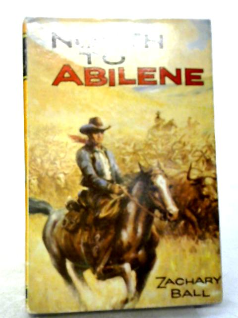 North to Abilene (Seagull library) By Zachary Ball