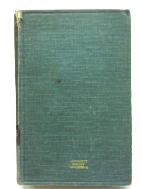Scholae Academicae: Some Account of Studies at the English Universities in the Eighteenth Century By Christopher Wordsworth