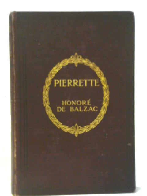 Pierrette By Honore de Balzac