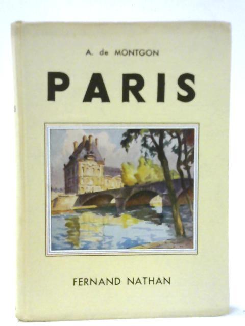 Paris By A De Montgon