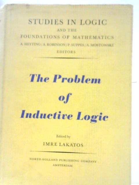 The Problem of Inductive Logic By Imre Lakatos