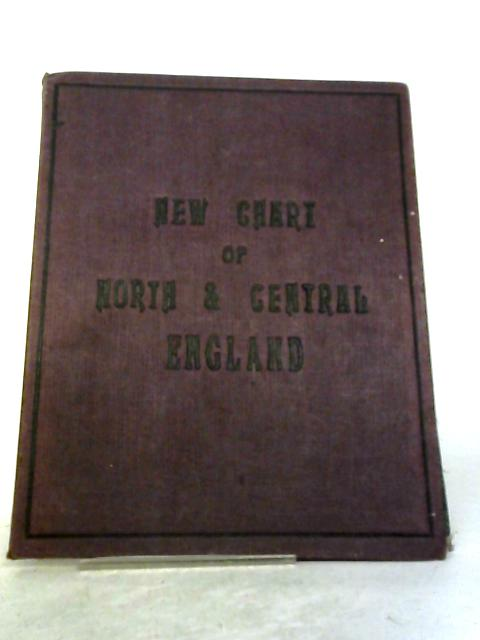 Map of North and Central England and Part of Wales By G W Bacon