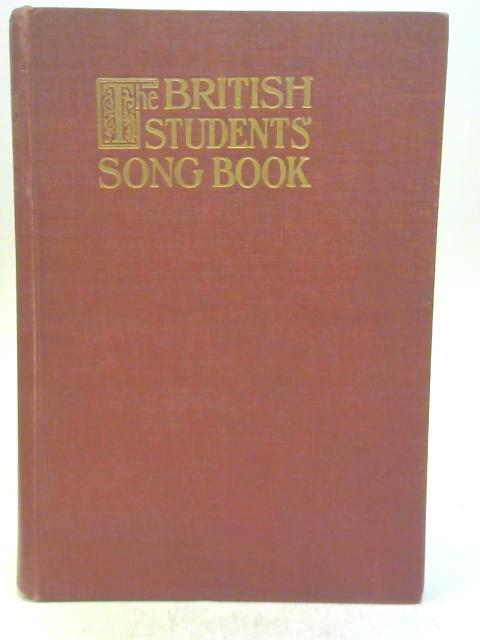 The British Students' Song Book by Various