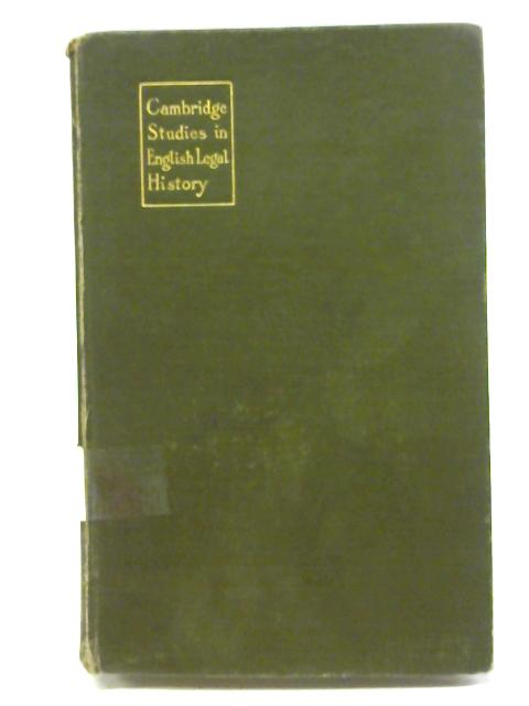 A Manual of Year Book Studies by William Craddock Bolland