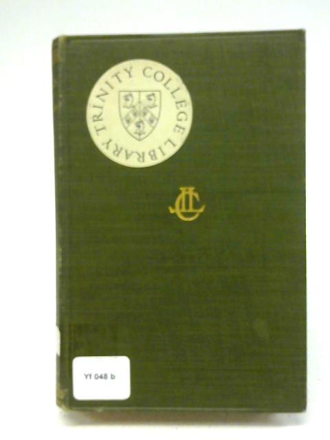 Athenaeus The Deipnosophists: volume I By Charles Burton Gulick