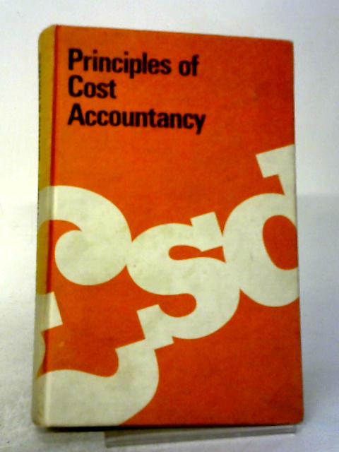 Principles of Cost Accountancy by C Buyers