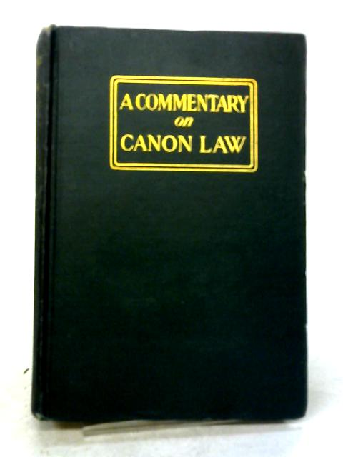 A Commentary on The New Code of Canon Law Vol.III by Charles Augustine