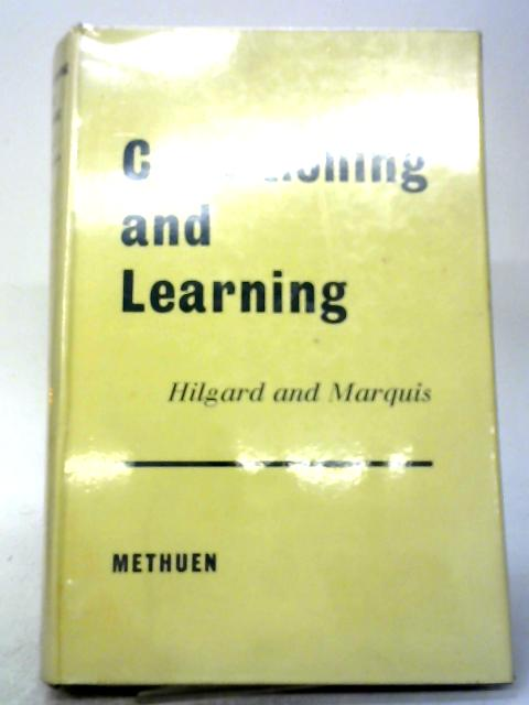 Hildgard and Marquis' Conditioning and Learning by Gregory A. Kimble