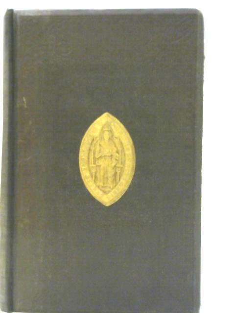 The Sarum Missal done into English by A. Harford Pearson