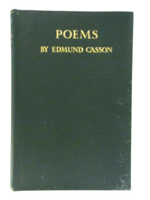 Poems by E. Casson
