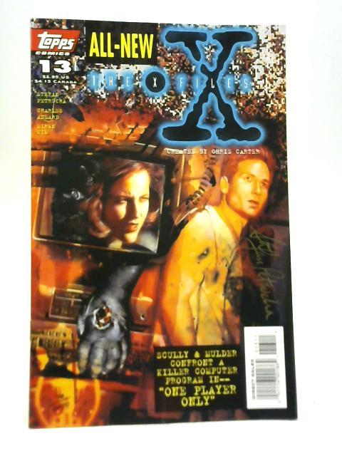 The X Files #13 By Stefan Petrucha