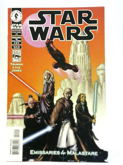Star Wars #14 Emissaries to Malastare 2 of 6 By Timothy Truman