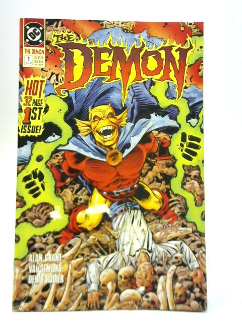 The Demon #1 By Alan Grant