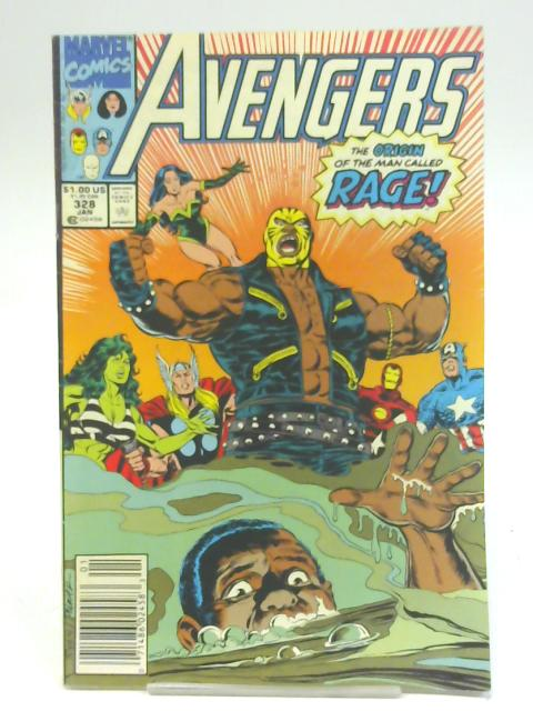 Avengers Vol 1 #328 (Jan 1991) By Larry Hama