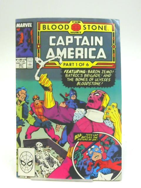 Captain America (Vol 1) # 357 (Ref-222049289) By Marvel Comics