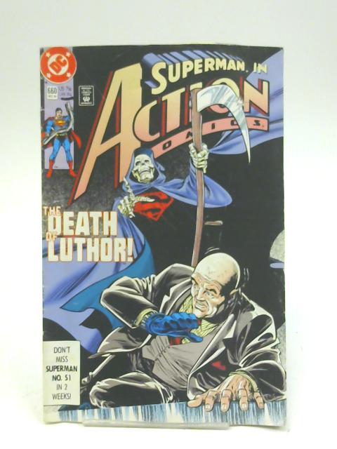 Action Comics (Vol 1) # 660 (Ref-1580878455) By DC Comics