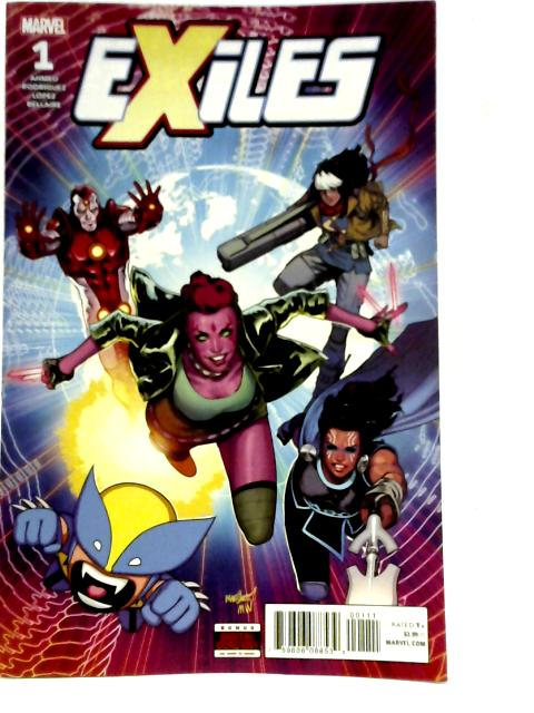 Exiles #1 By Saladin Ahmed