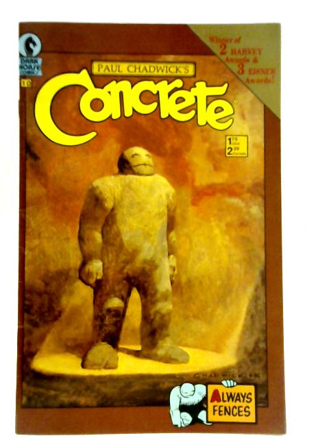 Concrete Issue 10 November 1988 By Paul Chadwick