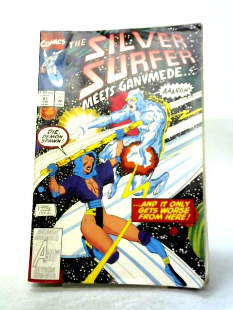 Silver Surfer Vol. 3 #81 By Ron Marz
