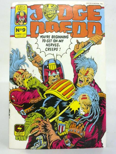 Judge Dredd No 9. June. (Quality Comics) By Anon