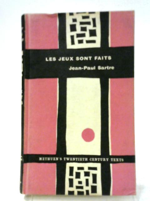 Les Jeux Sont Faits By Jean Paul Sartre