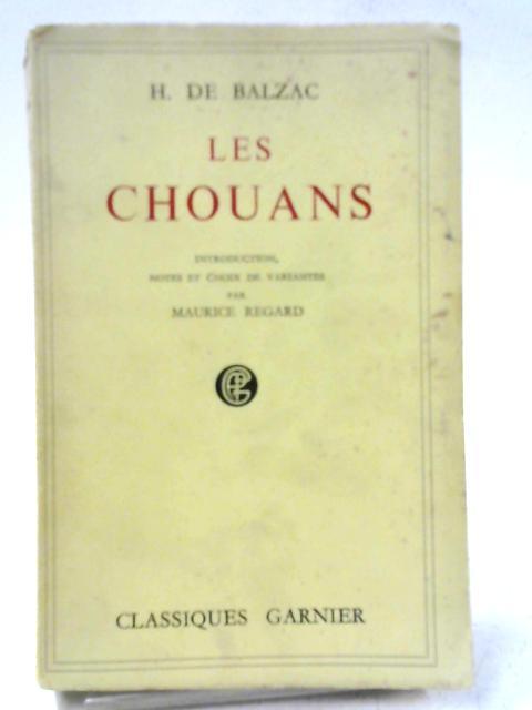 Les Chouans By Honore De Balzac
