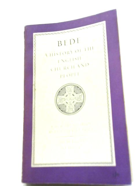 Bede; A History of the Church of England and People By L Shirley-Price