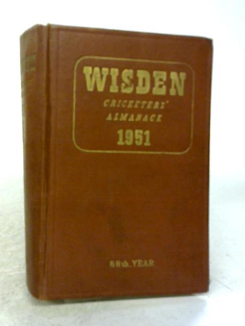 Wisden Cricketers' Almanack 1951 88th Year By H. Preston