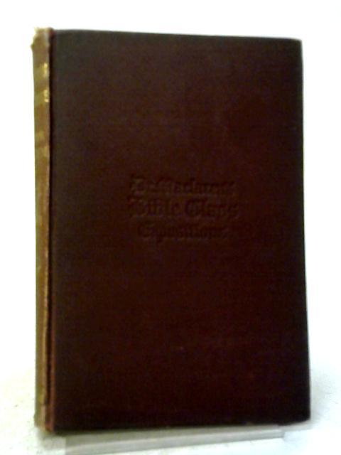 The Gospel of St. John By Alexander Maclaren