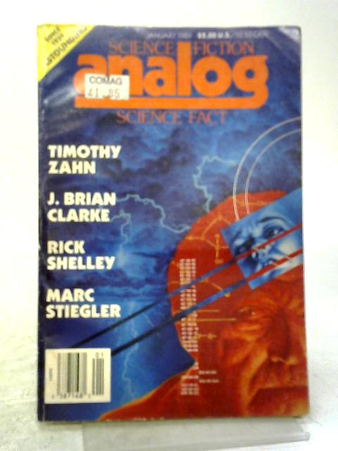 Analog Science Fiction, Science Fact January 1989 Vol.CIX, No.1 By Various