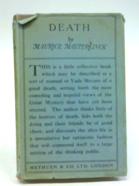Death By Maurice Maeterlinck