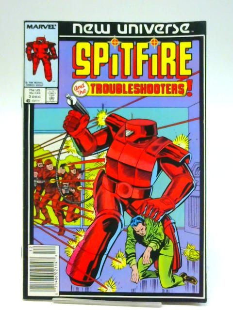 Spitfire and The Troubleshooters, Vol. 1 No. 3 By Unstated