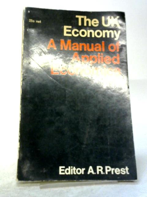 A manual of Applied Economics By A.R Prest