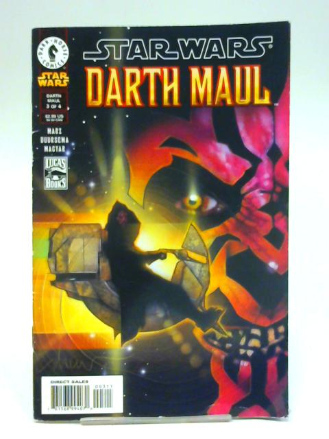 Star Wars Darth Maul No. 3 By Unstated