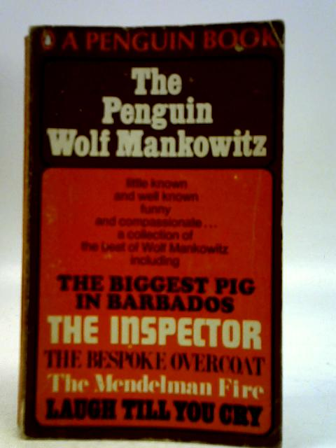 The Penguin Wolf Mankowitz By Wolf Mankowitz