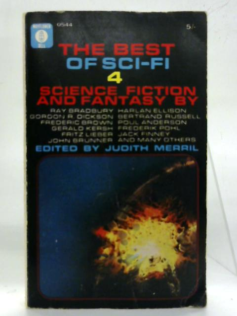 The best sci-fi No: 4. By Judith Merril (Ed.)