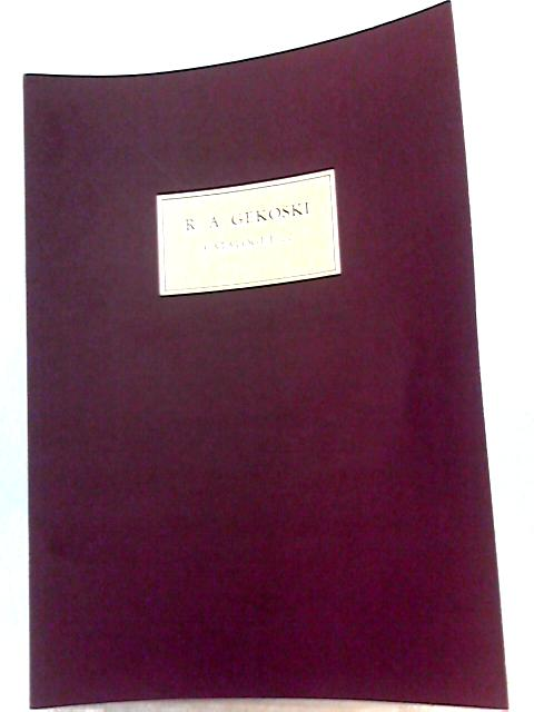 R. A. Gekoski Catalogue 22, Rare Books and Manuscripts