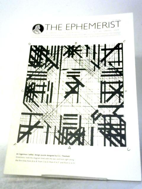 The Ephemerist, Journal of The Ephemera Society No 144 Spring 2009 By Various