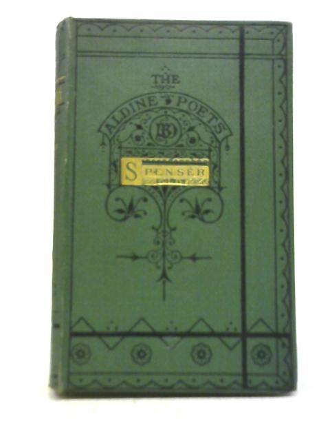 The Poetical Works Vol IV By Edmund Spenser