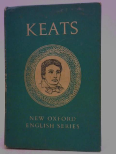 Keats Selected Poems and Letters By Roger Sharrock