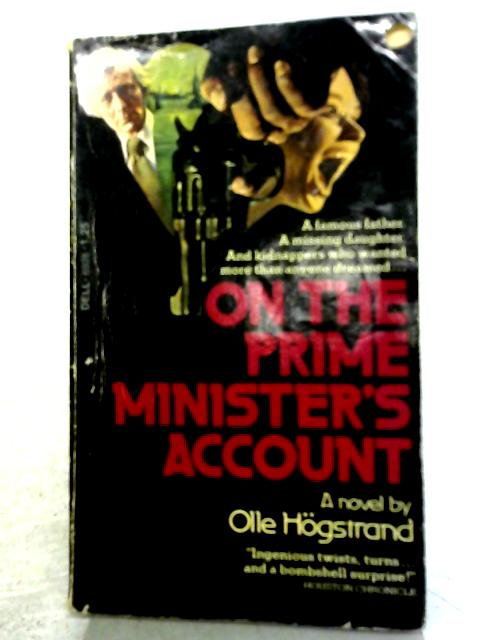 On The Prime Minister's Account By Olle Hogstrand
