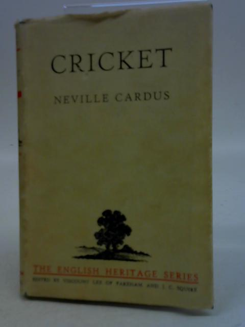 Cricket By Neville Cardus