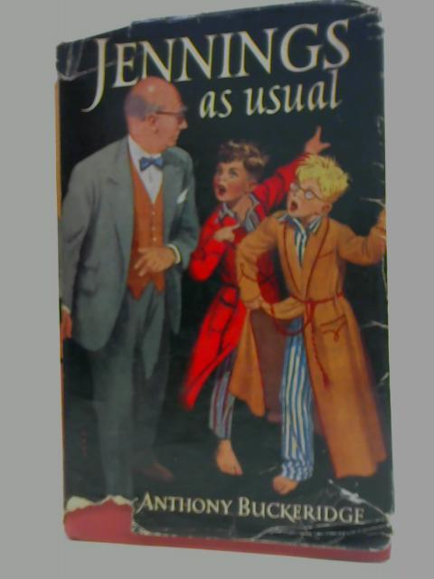 Jennings, As Usual By Anthony Buckeridge