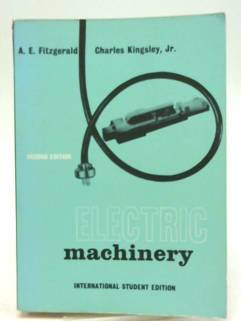 Electric Machinery By A. Fitzgerald