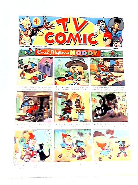 TV Comic #272 - Week Ending 19th January 1957 By Enid Blyton
