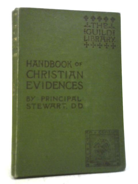 Handbook Of Christian Evidences By Alexander Stewart