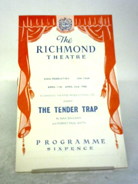 The Richmond Theatre - The Tender Trap Programme 1966 By Unstated