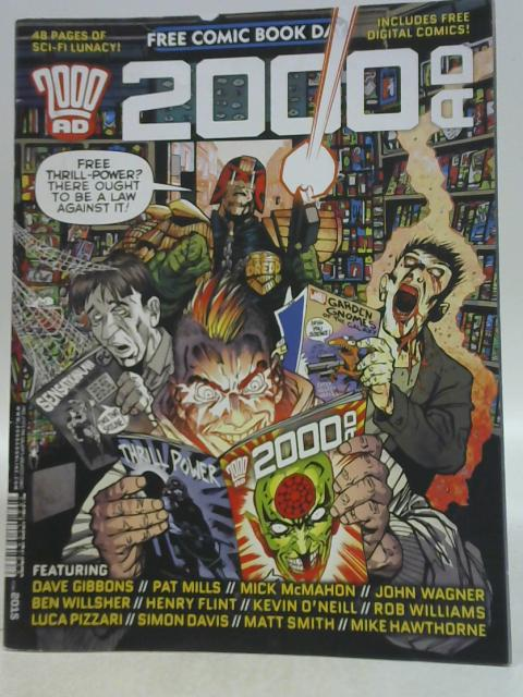 2000 AD Free Comic Book Day Prog 2005 By Various