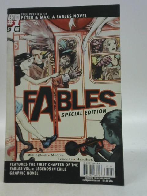 Fables Special Edition Issue 1 with Free Preview of Peter & Max By Various